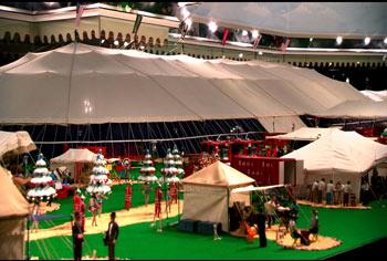 Model-tents